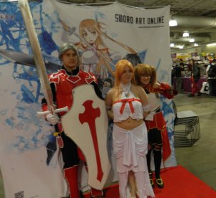 Anime Boston 2013 - Cosplay - Sword Art Online 003