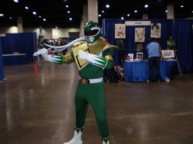 RI Comic Con 2013 - Green Ranger Cosplay 001