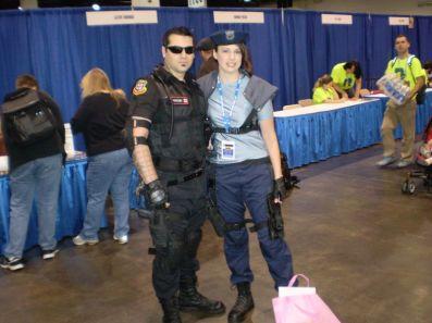 RI Comic Con 2013 - Jill & Wesker Cosplay 001
