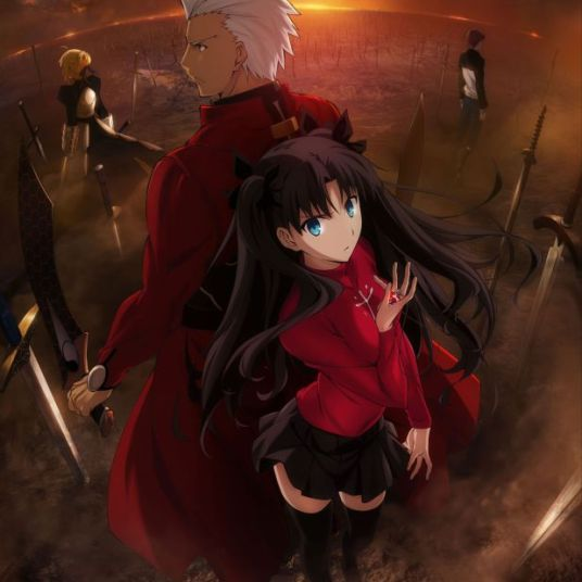 Fate/Stay Night: Unlimited Blade Works Key Art
