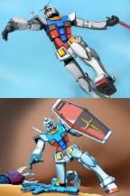 Anime RX-78-2 Gunpla 009 - 20141126