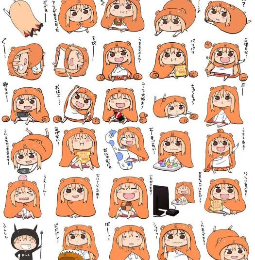 Himouto Umaru-chan Key Visual 001 - 20150511