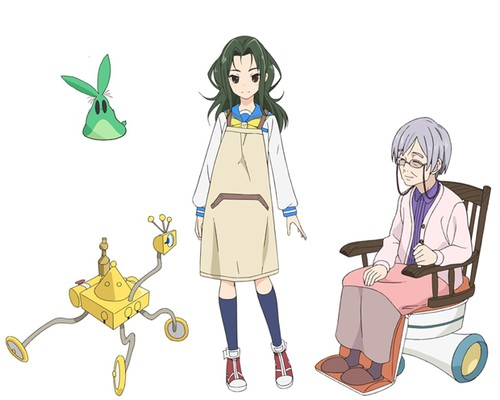 Yukusukyuru, TT-392, Senpai, & Grandma