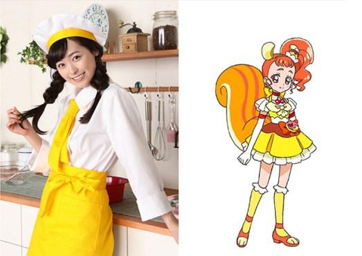 Cure Custard (Haruka Fukuhara)