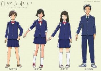 Left to Right: Chinatsu Nishio, Aoi Takizawa, Akane Mizuno, Takumi Hira