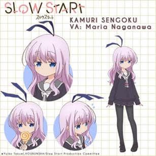 Slow Start Character Visual - Kamuri Sengoku 001 - 20171213