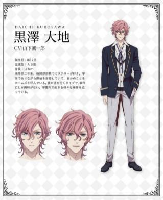 Butlers Chitose Momotose Monogatari Character Visual - Daichi Kurosawa 001 - 20180126