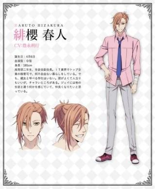 Butlers Chitose Momotose Monogatari Character Visual - Haruto Hizakura 001 - 20180126
