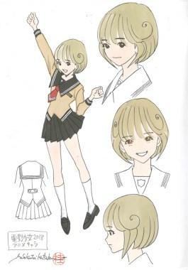 Video Girl Ai 2018 - Character Design 001 - 20180128