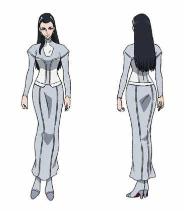 Megalobox Character Visual - Yukiko Shirato 001 - 20180208