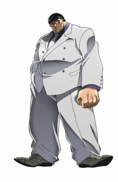 Baki Character Visual - Kaoru Hanayama