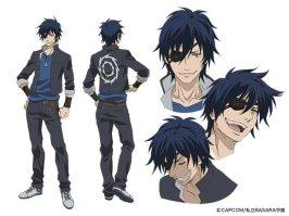Gakuen Basara Character Visual - Date Masamune