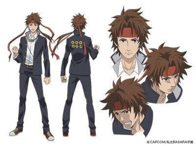 Gakuen Basara Character Visual - Sanada Yukimura