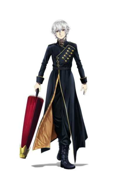 K Seven Stories Part 6 Character Visual - Yashiro Isana