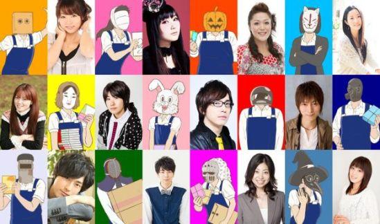 Gaikotsu Shotenin Honda-san Character Visual - Full Cast