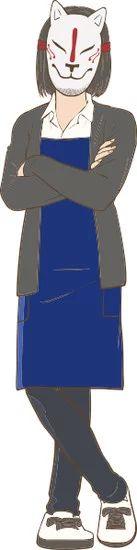 Gaikotsu Shotenin Honda-san Character Visual - Okitsune