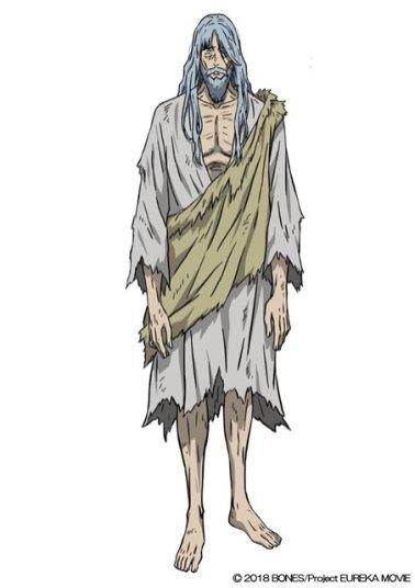 Anemone Eureka Seven Hi-Evolution Character Visual - Dewey Novak