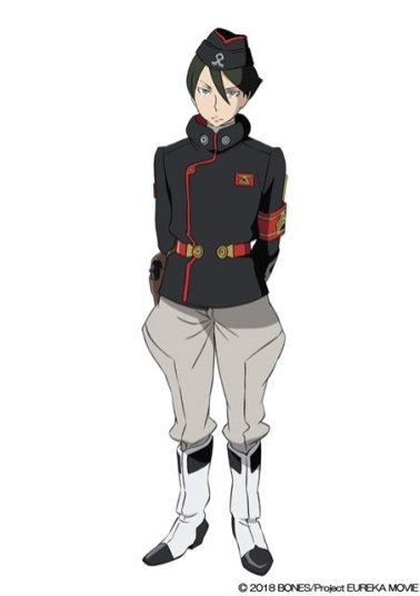 Anemone Eureka Seven Hi-Evolution Character Visual - Dominic