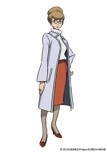 Anemone Eureka Seven Hi-Evolution Character Visual - Sonia Wakabayashi