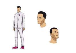 Feel the Wind Character Visual - Kazuma Fujioka
