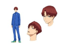 Feel the Wind Character Visual - Kosuke Sasaki