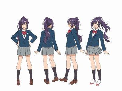 Iroduku Sekai no Ashita kara Character Visual - Kohaku Tsukishiro