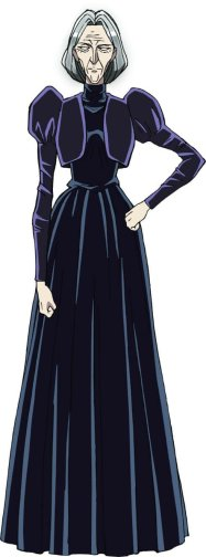 Karakuri Circus Anime Character Visual - Lucille Bernouille