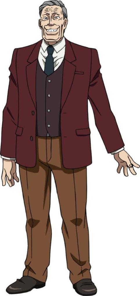 Karakuri Circus Anime Character Visual - Yoshiharu Saiga