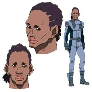Mobile Suit Gundam NT Character Visual - Derao