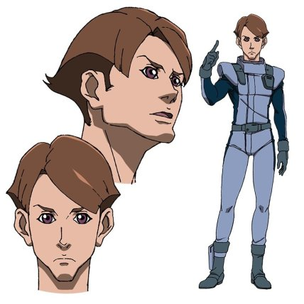 Mobile Suit Gundam NT Character Visual - Taman