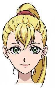 Gunjo no Magmell Anime Character Visual - Emilia