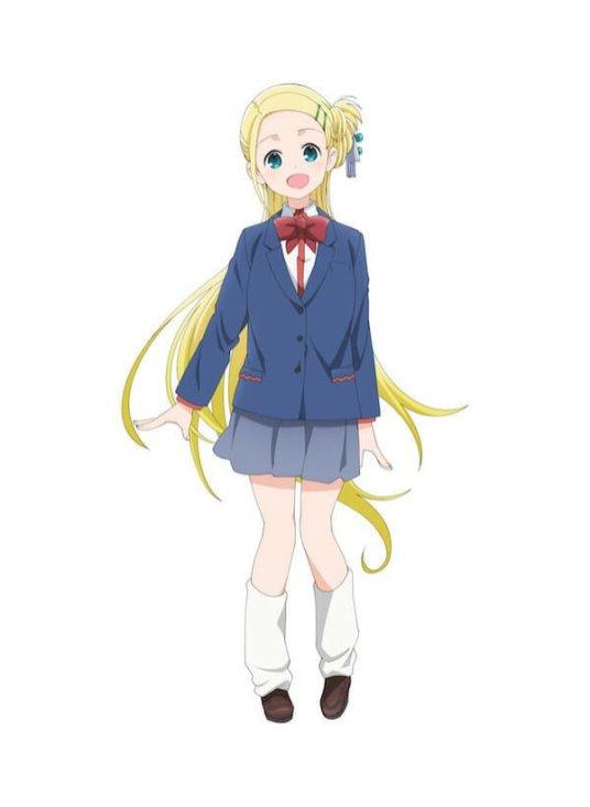 Hitori Bocchi no Marumaru Seikatsu Character Visual - Rakita Sotoka