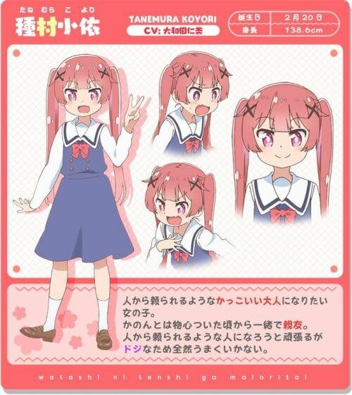 Watashi ni Tenshi ga Maiorita Character Visual - Koyori Tanemura