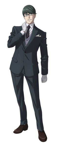 Kabukicho Sherlock Character Visual - Fuyuto Kyogoku