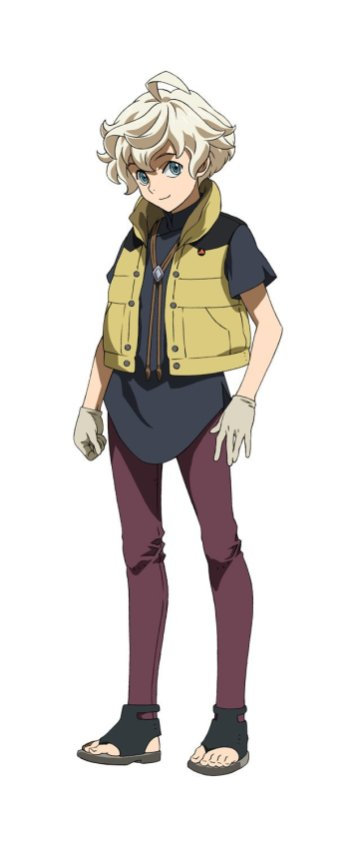 Gundam Iron-Blooded Orphans - Uror Hunt Character Visual - Wistario Afam