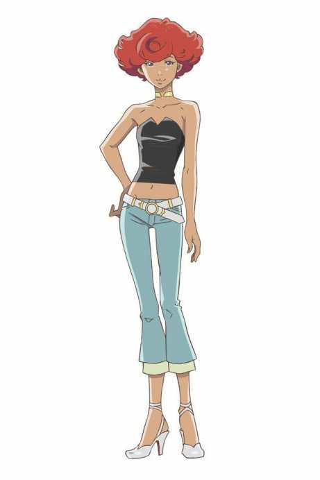 Carole and Tuesday Character Visual - Angela