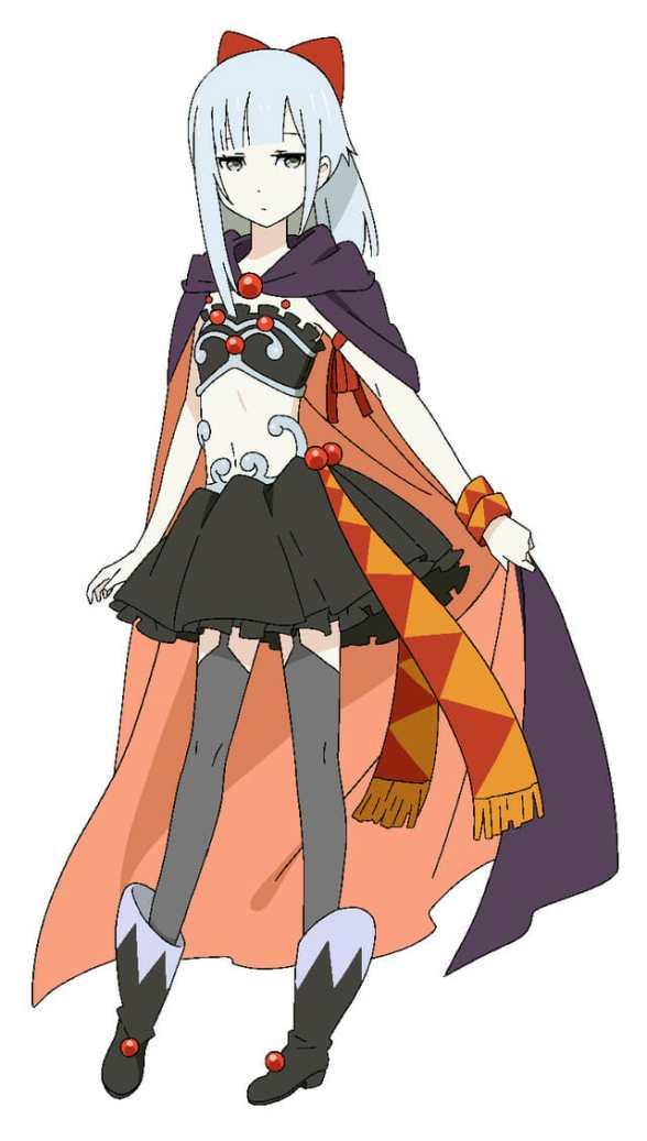 Mao-sama Retry Anime Character Visual - Yukikaze