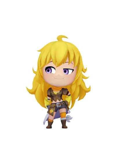 RWBY Crystal Quest Character Visual - Yang