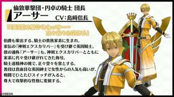 Project Sakura Wars Character Visual - Arthur