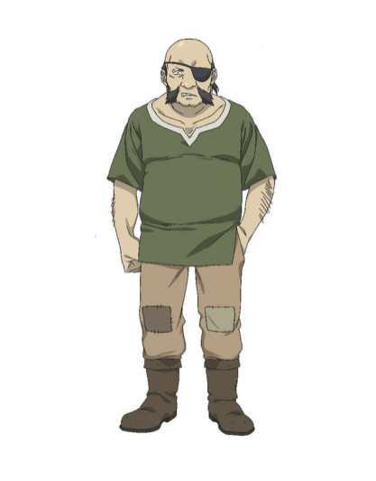 Hataage Kemonomichi Anime Character Visual - Edgar