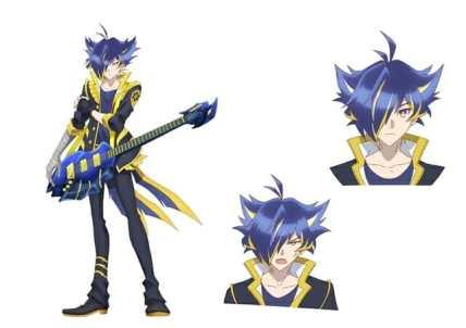 Show By Rock Mashumairesh Anime Character Visual - Yasu