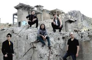 """The Slants"" filming the video for ""How the Wicked Live"""