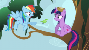 This is the first time in 21 months that Twilight Sparkle has actually failed at something. Good, because she was starting to stink of John Cena.