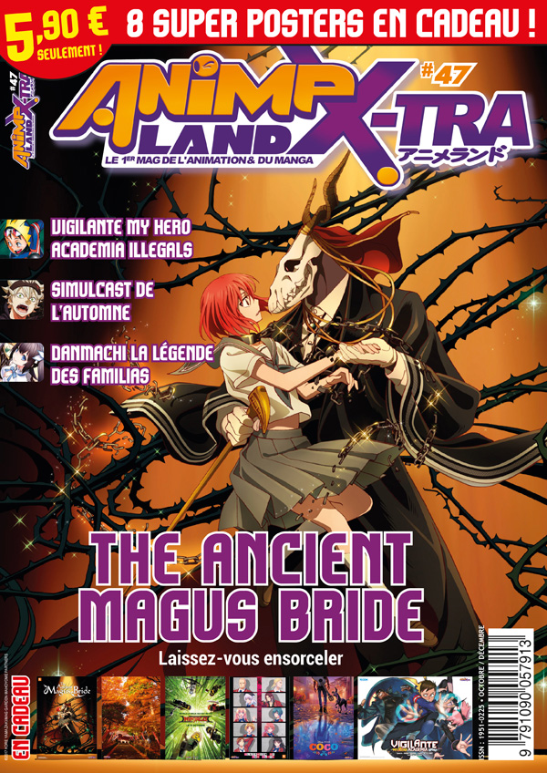 Couverture AnimeLand X-tra 47