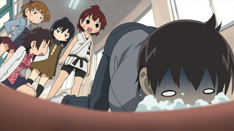 Anime Mitsudomoe - Comédia, Escolar, Dia a Dia