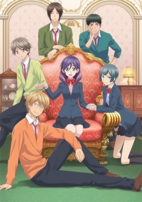 Image result for kiss him not me anime