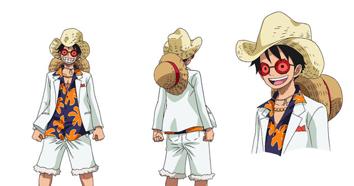 Monkey d luffy | one piece lightweight hoodie. One Piece Film Gold Anime S Character Costumes By Original Creator Unveiled News Anime News Network