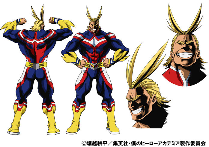 аниме Boku No Hero Academia всемогущий