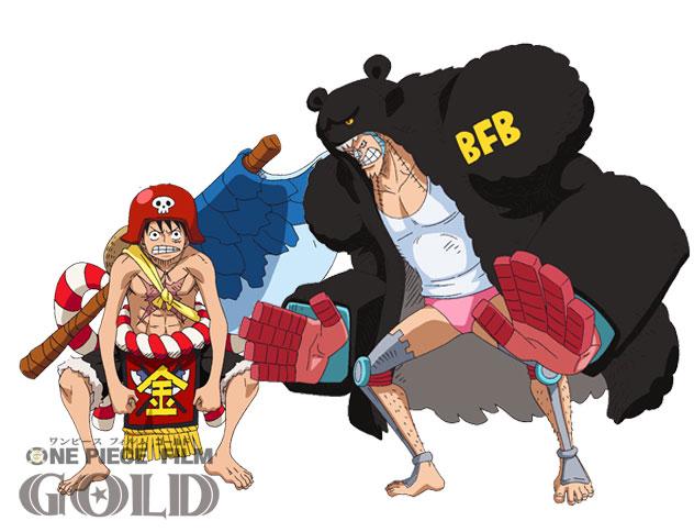 трейлер One Piece Gold персонажи