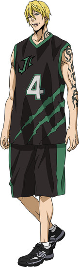 Hikaru Midorikawa sebagai Nash Gold Jr., point guard Jabberwock